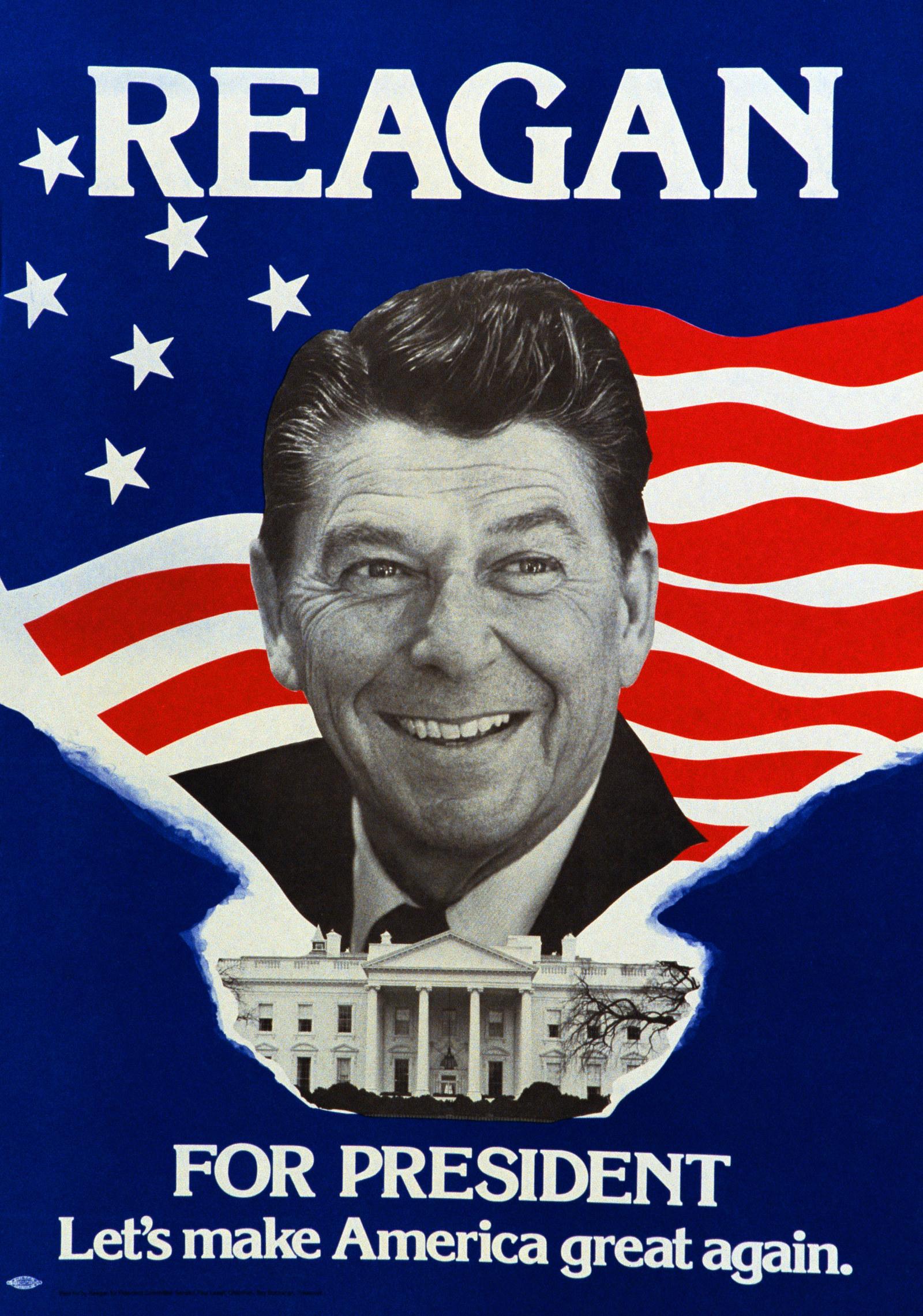 Reagan MAGA Poster